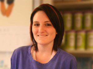 Tierarzthelferin Andrea Winkler